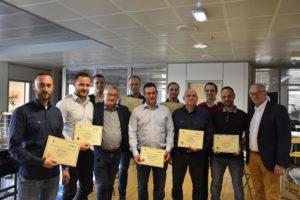 certification Outward des collaborateurs CK group