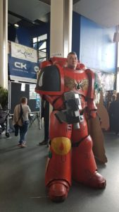 cosplay robot luxcon 2019